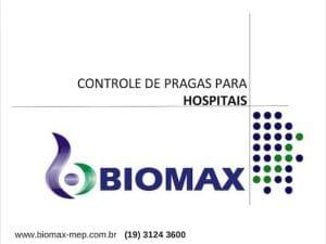Apresentação sobre Controle de Pragas em Hospitais